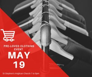 Pre-loved clothing event