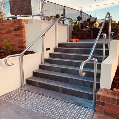 New handrails installed