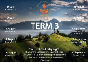Youth flier - Term 3 - 2019