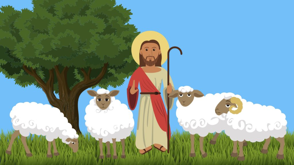 Jesus is the door to the sheepfold